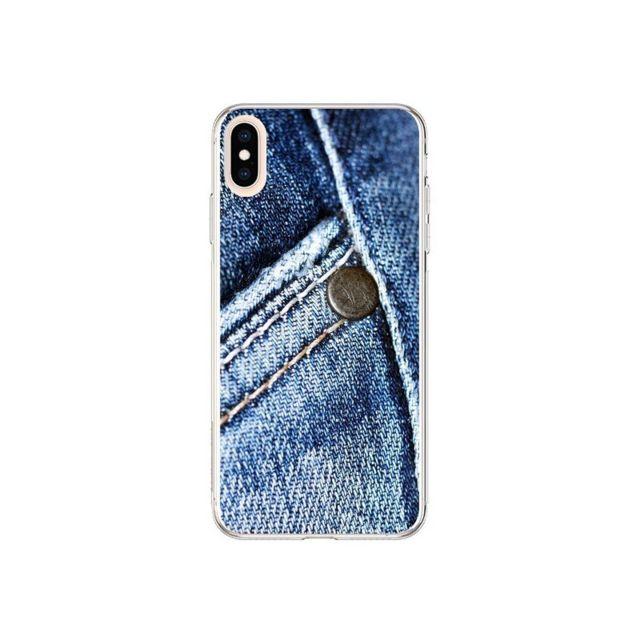 coque iphone xs max jean vintage laetitia