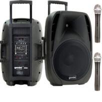 """Gemini - Es-15TOGO 15"""" Active Battery-Powered Loudspeaker"""