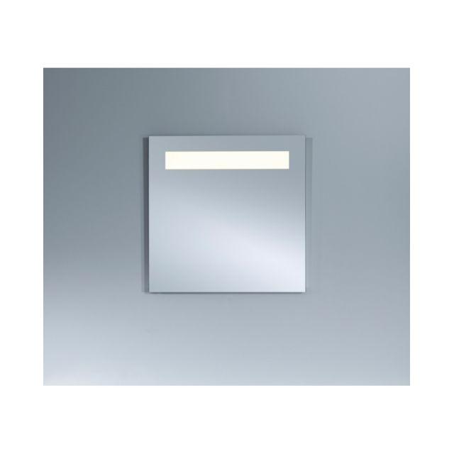 Deknudt Mirrors Miroir Lumineux B.PURE.1 Plus Lumineux Carrée Naturel 70x70 cm