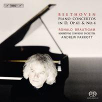 Bis - Piano Concerto N°4 & Concerto Violon ARRANGEMENT Pour Piano Cd
