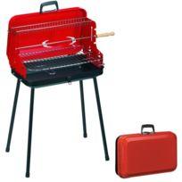 ALPERK - Barbecue pliable avec poignée Valisette