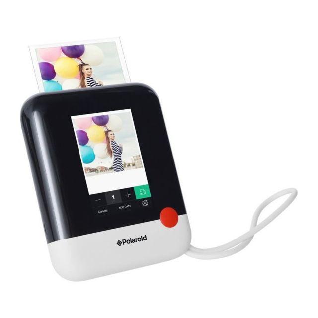 polaroid polpop1w appareil photo num rique instantan blanc pas cher achat vente appareil. Black Bedroom Furniture Sets. Home Design Ideas