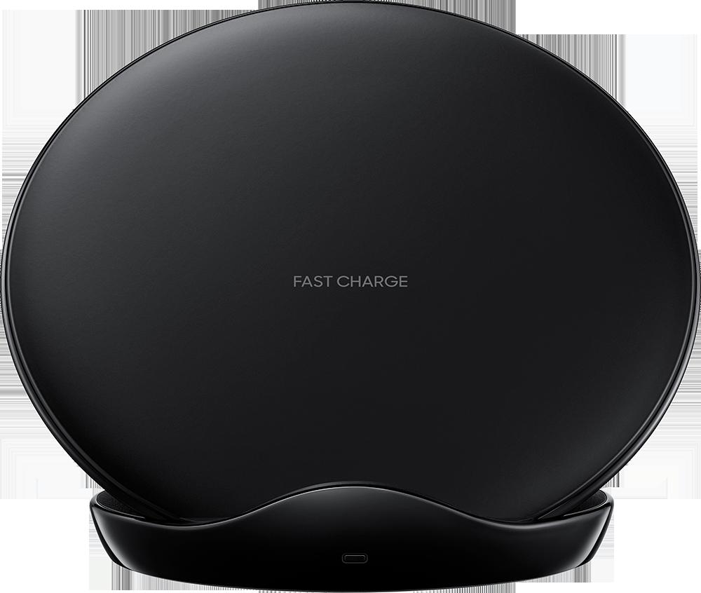 Chargeur induction rapide Stand EP-N5100TB avec chargeur secteur Samsung Noir