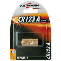 Ansmann - Pile lithium Cr123A