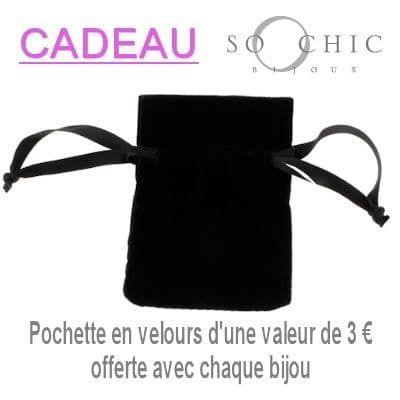 Sochicbijoux - So Chic Bijoux © Pendentif Cercle Céramique Noire Barette Oxyde de Zirconium Blanc Argent 925 Vendu seul: sans chaîne présentée