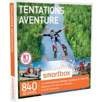 Smartbox - Tentations aventure - 840 activités : conduite Gt Ferrari, Lamborghini vol en Ulm, saut à l'élastique - Coffret Cadeau