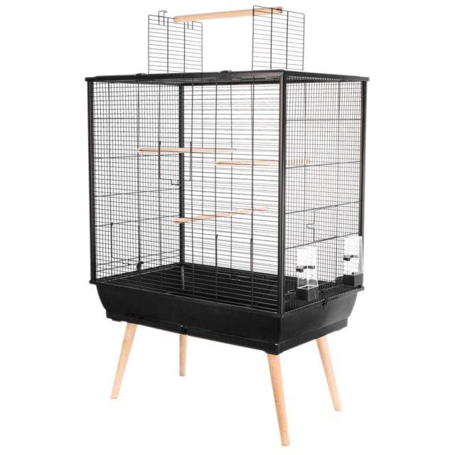 Zolux Cage pour Oiseaux Neo Jili Noire