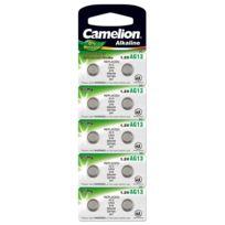 Camelion - Arcas - 10 Piles Alcalines Ag13 Lr44 Lr1154 357