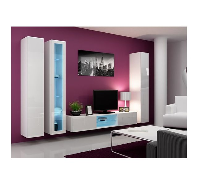 CHLOE DESIGN Meuble tv design ERA - blanc
