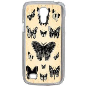 Lapinette - Coque Rigide Papillon Vintage Pour Samsung Galaxy S4 Mini