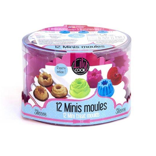 12 minis moules amuse-bouche en silicone