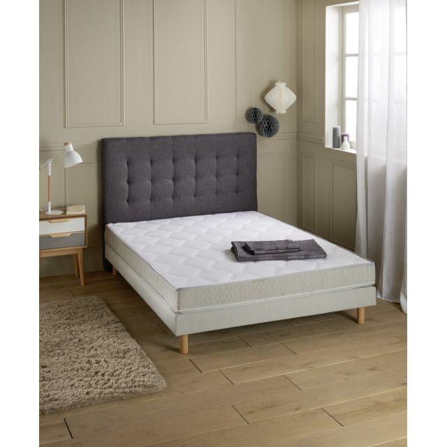 carrefour matelas hauteur 19 cm achat vente matelas mousse pas chers rueducommerce. Black Bedroom Furniture Sets. Home Design Ideas
