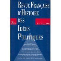 Picard - Revue Francaise D'Histoire Des Idees Politiques N.3