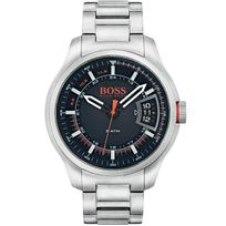 Bossorange - Montre Hugo Boss Orange en Acier Gris