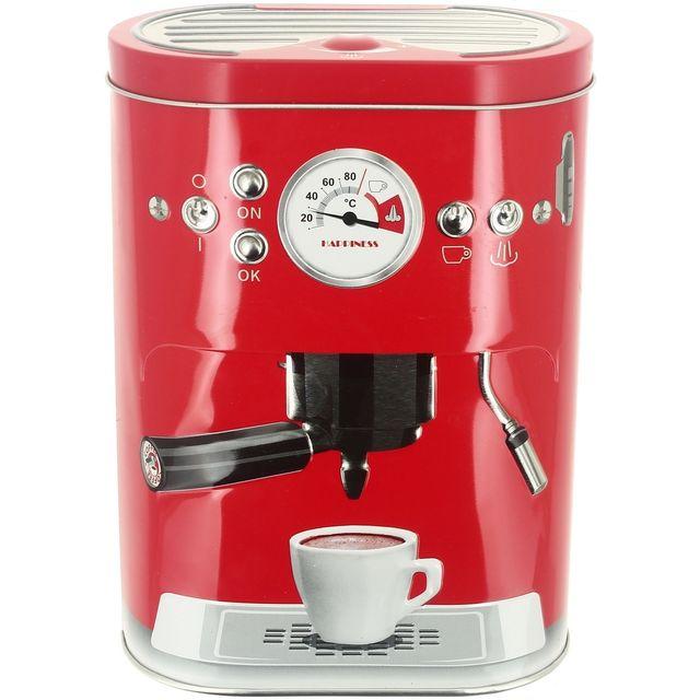 Promobo Boite à Capsules Café Double Dosette Senseo Machine A Café 3D Rouge