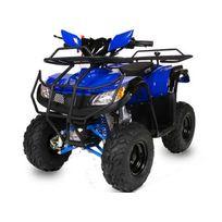 Nitro Motors - Quad 110 hummer bleu