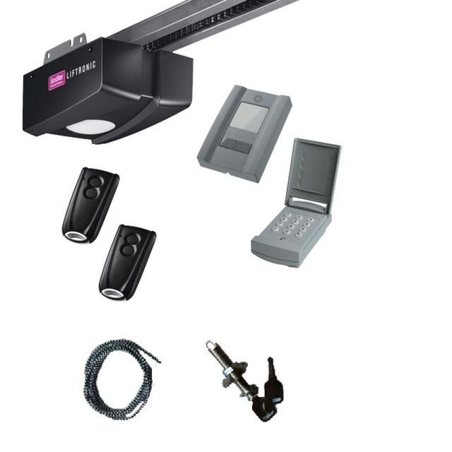 Ecostar pack liftronic 800 avec d verrouillage ext rieur for Motorisation porte de garage sectionnelle pas cher