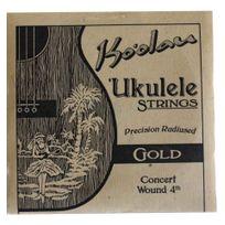 Pono Kooalau - Cordes Ukulele concert Ko'oalau Gold 4ième filée