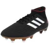 Adidas - Chaussures football vissées Predator 18.3 sg cblack Noir 76479