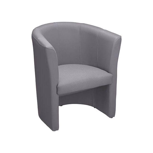 Chauffeuse Premium tissu classique gris