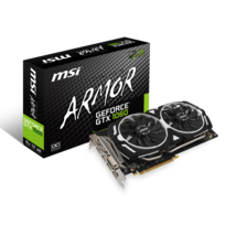 MSI - GeForce GTX 1060 ARMOR 6G OC