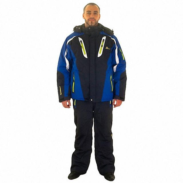 101452b4f1d1 Peak Mountain - Ensemble de ski homme Caxial - pas cher Achat   Vente  Blouson de ski - RueDuCommerce