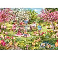 GIBSONS - Puzzle 1000 pièces : Cinq petits canards