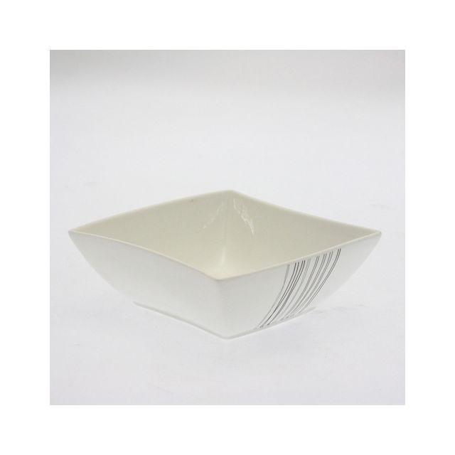 B&W Coupelle en porcelaine - Diam. 15 cm - Lignes