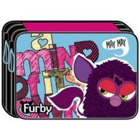 Vamos - 336-45100 - Trousse - Double Plumier Avec Accessoires - Furby