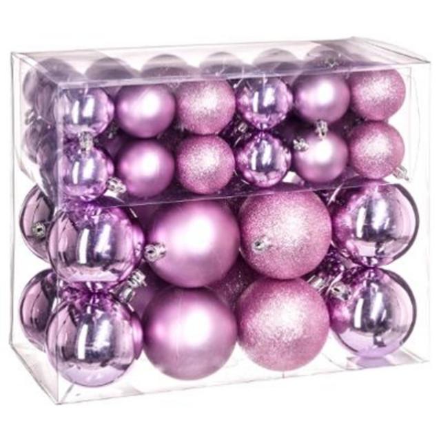 Boule Decoration.Kit De 52 Boule De Noel Parme Décoration Sapin Fête 706