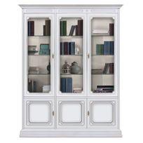 Arteferretto - Bibliothèque vitrée murale