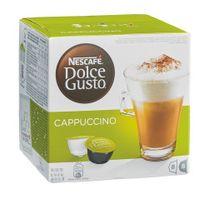 Dolce Gusto - Cappuccino Nescafé en dosette pour - Boîte de 16