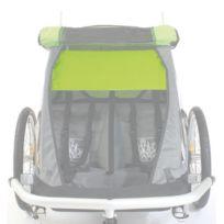 Croozer - Pare-soleil Kid for 2 pour remorque Kid biplace vert claire