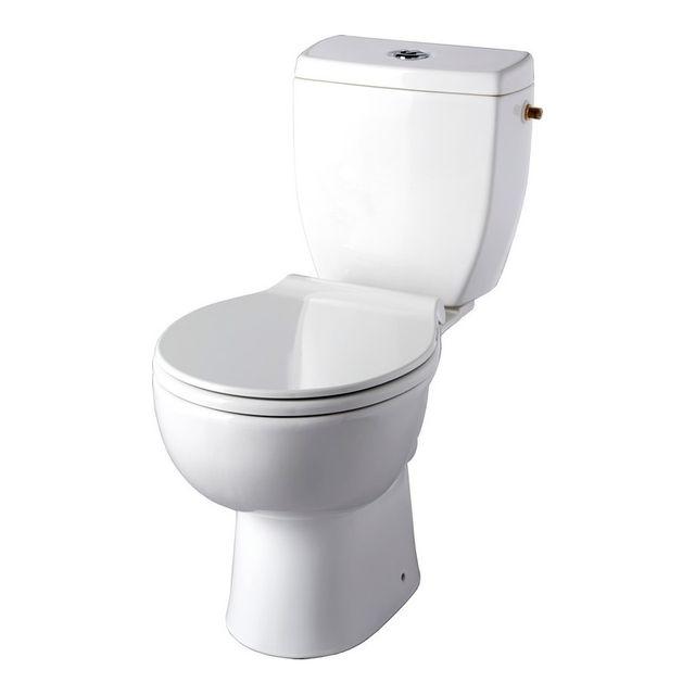 planetebain pack wc poser clean flush cuvette sans bride sortie horizontale pas cher. Black Bedroom Furniture Sets. Home Design Ideas
