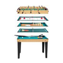 Rendez vous déco - Table multi-jeux 10 en 1