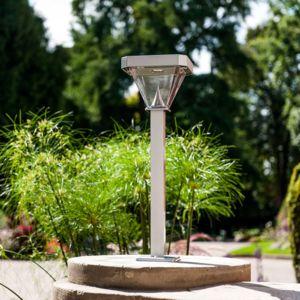 Galix - Potelet Solaire 250 Lumens Aluminium - pas cher Achat ...