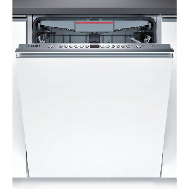 Bosch Lave-vaisselle Tout Intégré 60 Cm Smv 46 Nx 03 E
