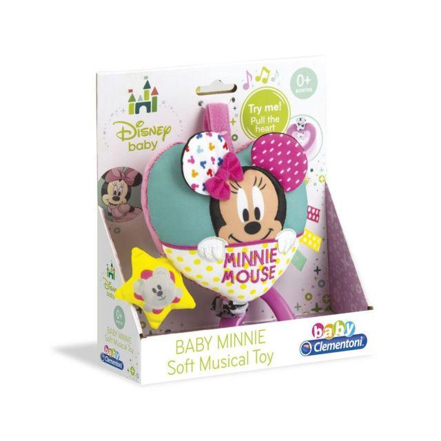 CLEMENTONI - Jouet musical Disney bébé Minnie