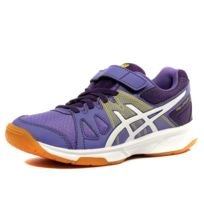 9bd6a4f0756 Asics - Pre Upcourt Ps Fille Chaussures Volley-ball Violet Multicouleur 35