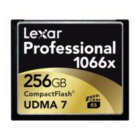 Lexar - Carte Cf 256 Go 1066X Professional Udma