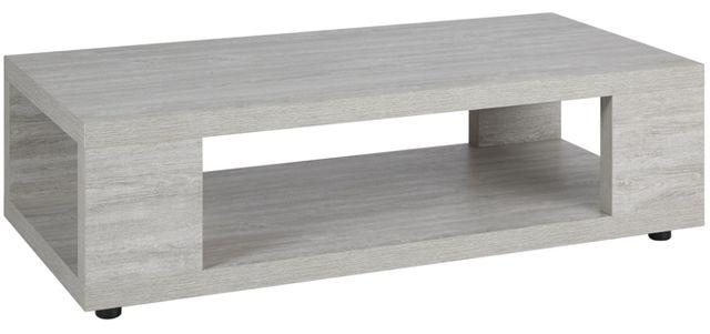 Comforium Table basse contemporaine 120 cm coloris Valonia