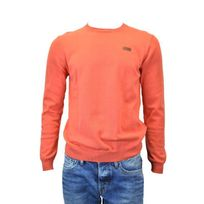 Pepe Jeans - Pull caron rouge