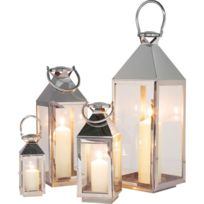 Karedesign - Lanternes Giardino set de 4 Kare Design