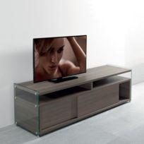 Meuble Tv Portes Coulissantes Achat Meuble Tv Portes Coulissantes - Meuble tv porte coulissante