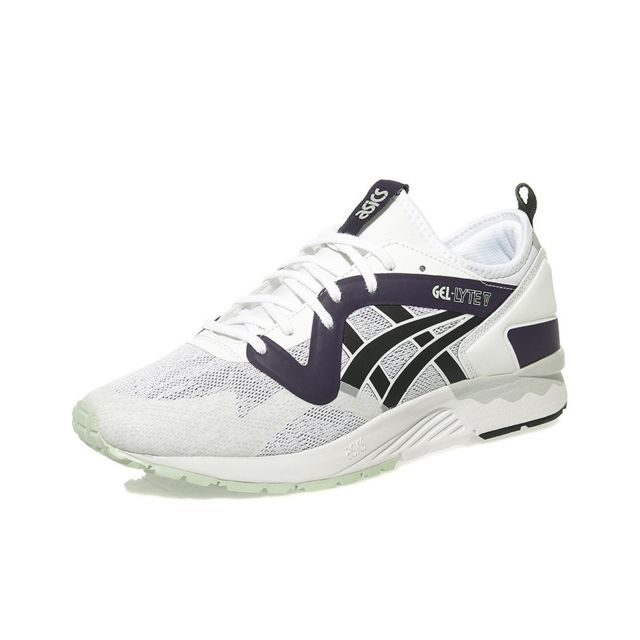 chaussure haute gamme homme Asics GEL LYTE NS Blanc