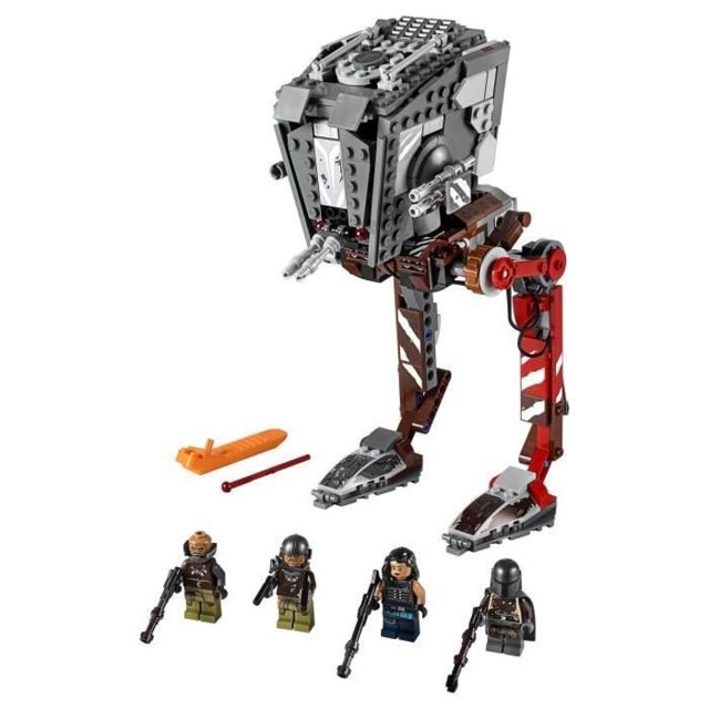 Icaverne JEU D'ASSEMBLAGE - JEU DE CONSTRUCTION - JEU DE MANIPULATION Star Wars™ 75254 AT-ST™ Raider