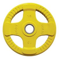 Bodysolid - Disque olympique Body-Solid Rubber Orck 15 kg jaune