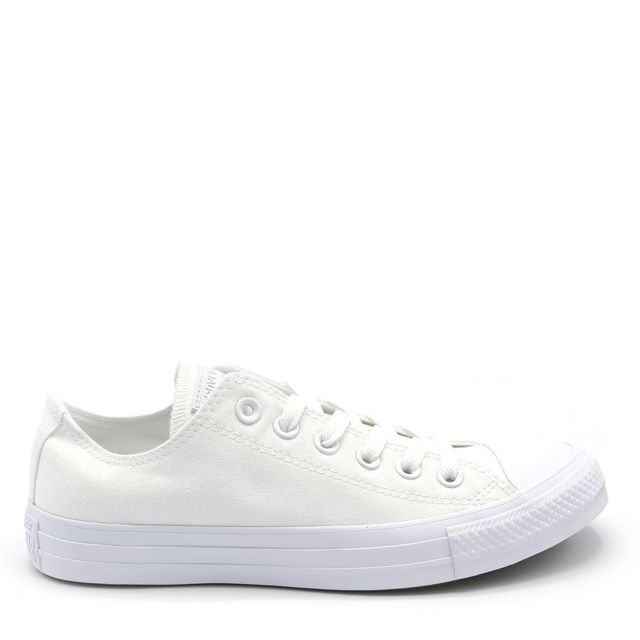 Baskets Converse BASKET CT ALL STAR OX WHITE VELCRO Blanc