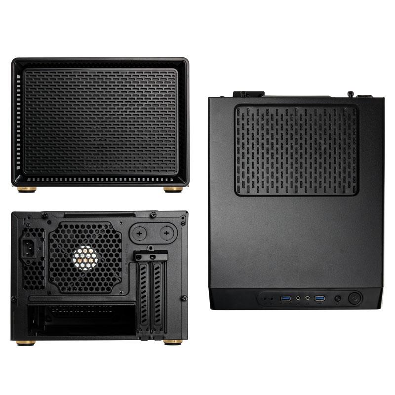 Boîtier PC Mini-ITX Satellite Kolink Noir