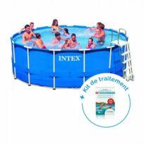 ac4089fae4187 Pack Kit piscine tubulaire MetalFrame 4,57 x 1,22 m + Traitement pour